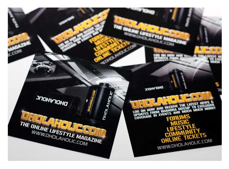 Dholaholic Branding and Flyer Design
